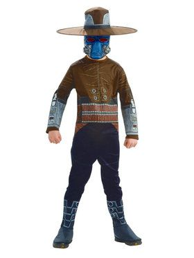 Boys H/S Cad Bane (Star Wars) Costume