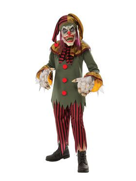 Kids Crazy Clown Costume