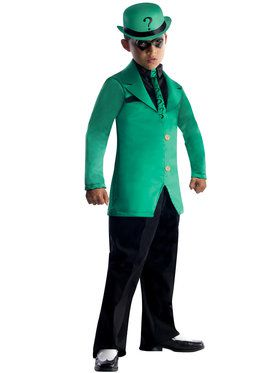 Super Villains Riddler DC Comics Gotham Costume