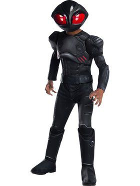 Black Manta Boys Deluxe Costume