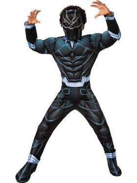 Black Panther Boys Deluxe Costume