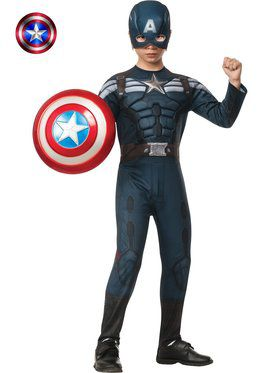 Boys Deluxe Captain America 2 Stealth M