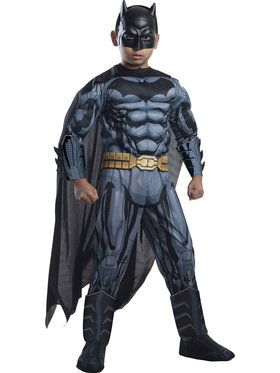 Deluxe Muscle Chest Batman Boy's Costume