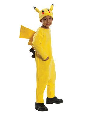 Pikachu (Pokmon) Costume Deluxe for Kids