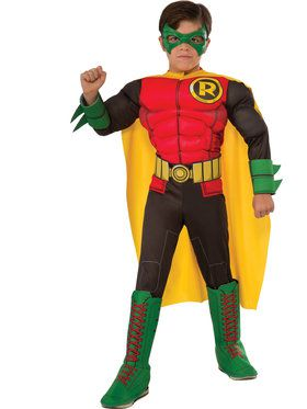 Boys Dlx Robin Costume