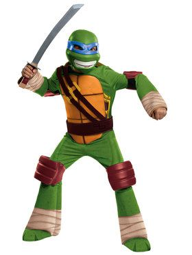 Leonardo Teenage Mutant Ninja Turtle Costume