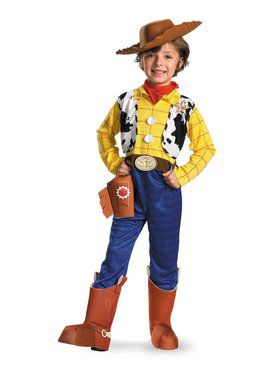 Toy Story 3 - Deluxe Boys Woody Costume