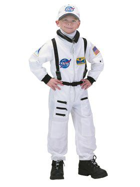 Boys Deluxe White Nasa Junior Astronaut
