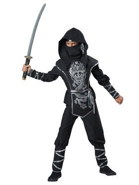 Dragon Ninja Boys Costume