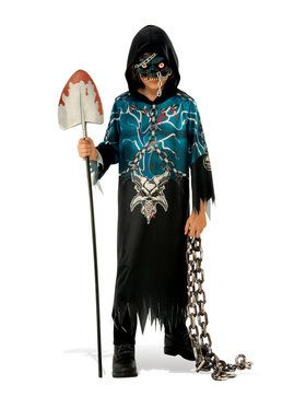 Kids Evil Demon Costume