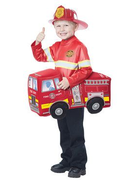 Boys Fire Truck Hero Costume