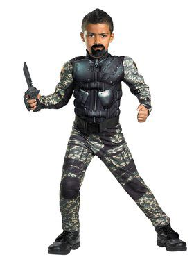 Boys G.i. Joe Movie Classic Muscle Roadb