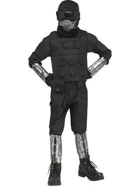 Boys Gaming Fighter Costume