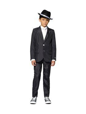 Boys Gangster Halloween Suit