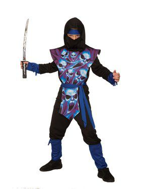 Kid's Ghost Ninja Costume