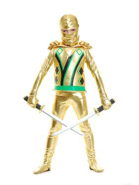 Golden Ninja w/Armor Child Costume
