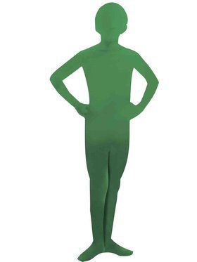 Green Kids Skinsuit