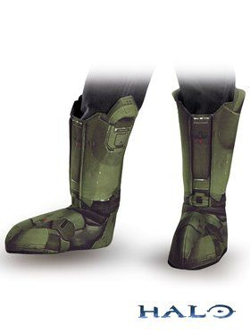 Halo Master Chief Child Boot Covers  sc 1 st  BuyCostumes.com : halloween costumes master chief  - Germanpascual.Com