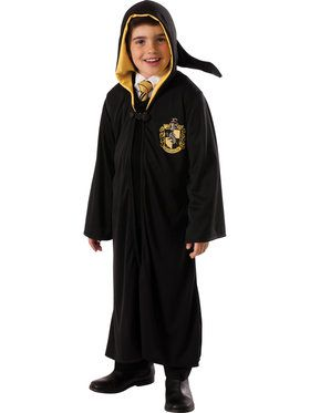 Hufflepuff Harry Potter Boys Robe Costume