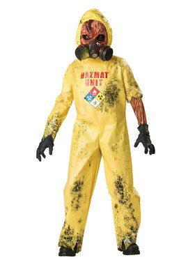 Boys Hazmat Hazard Costume