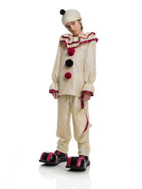 Boy's Horror Clown Child Costume