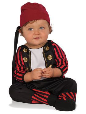 Boys Infant Todder Pirate Cutie Costume