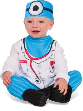 Boys Infant Toddler Doctor Snuggles Costume