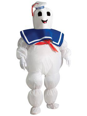 Inflatable Ghostbusters Boys Stay Puft Costume