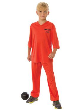 Good Inmate 101 Costume For Boys