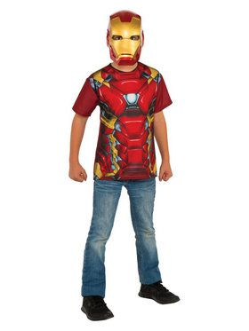 Boys Iron Man Costume Top Costume