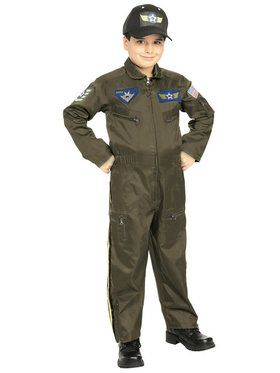 Boys Jr. Fighter Pilot Costume