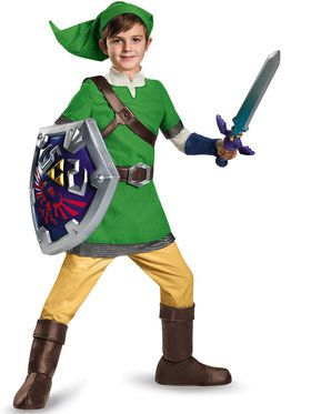 The Legend of Zelda - Deluxe Boys Link Costume