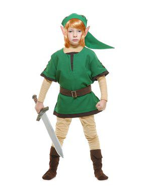 Elf Warrior Child Costume