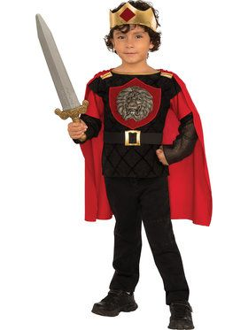 Boys Little Knight Costume