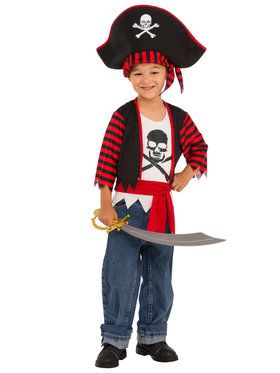 Little Pirate Boy's Costume
