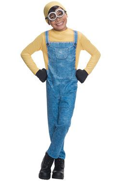 Boys Minion Bob Costume