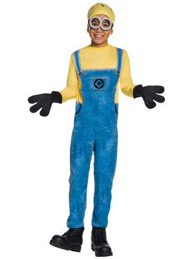 Boys Minion Jerry Costume
