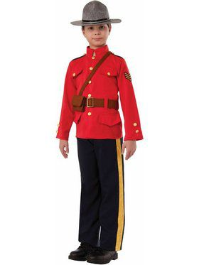 Boys Mountie Costume