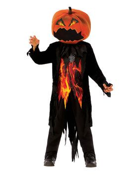 Mr. Pumpkin Costume for Boys