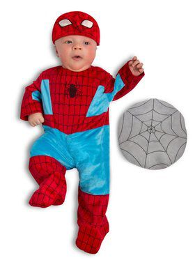 Boys Newborn Marvel - Spider Man Child Costume