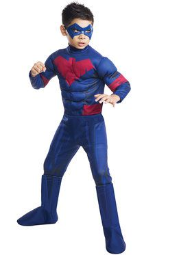 Boys Nightwing Deluxe Costume