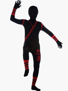 Boys Ninja 2nd Skin Costume
