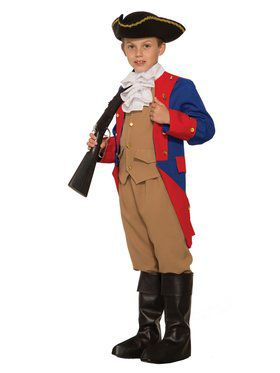 Boys Patriotic Soldier Costume