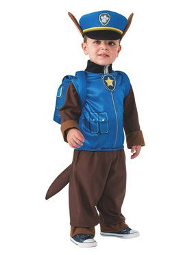 Boys Toddler Paw Patrol Chase Child Cos  sc 1 st  BuyCostumes.com & Baby u003e All Baby u0026 Toddler Costumes