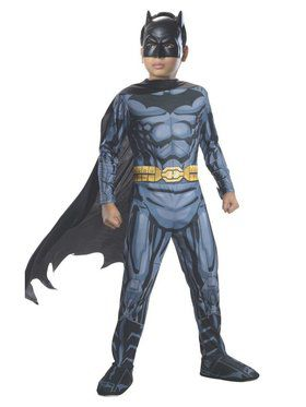 Boys Photo Real Batman Costume