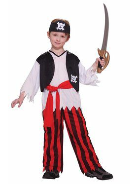Boys Thrilling Pirate Costume