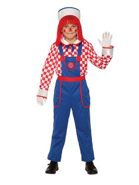 Raggedy Doll Costume for Kids