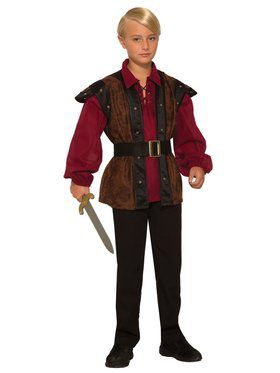 Faire Boy Renaissance Costume for Kids