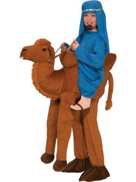 Ride On Camel Boys Costume