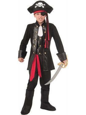 Seven Seas Pirate Costume for Boys